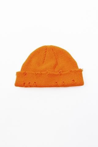 Шапка Torn Style оранжевая