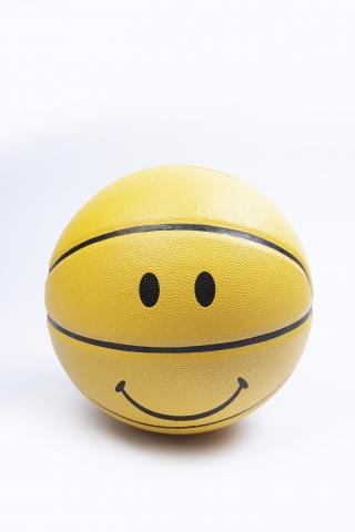 Баскетбольный мяч Smile желтый
