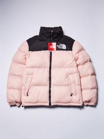 Куртка зимняя The North Face (ч/розовая)