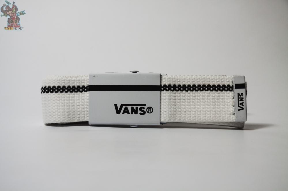 Ремни Vans 490 (бел-черн)
