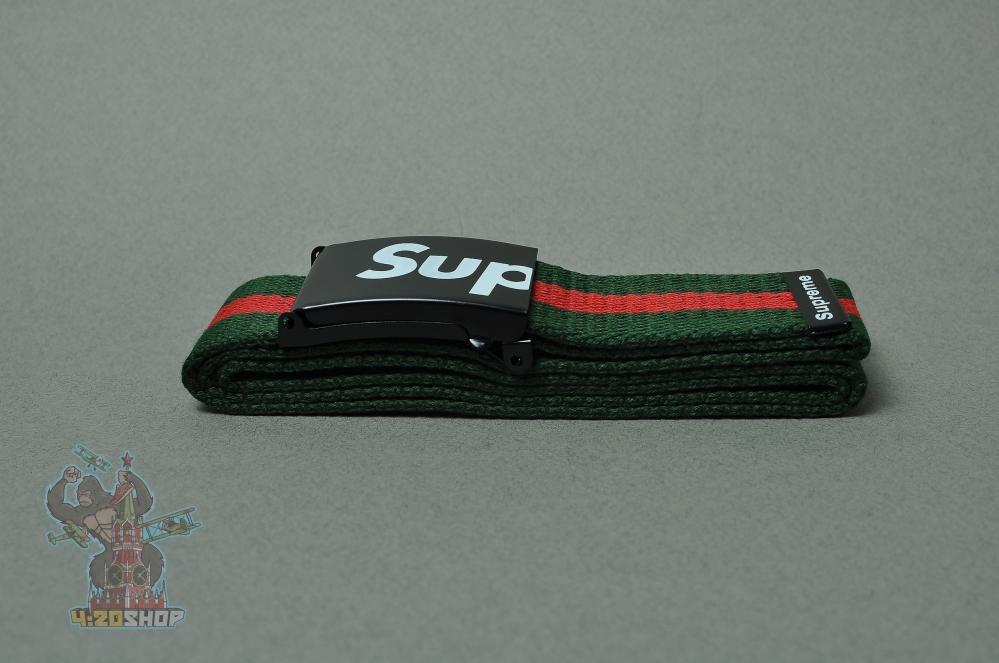 Ремни Supreme 390 (зел-кр)