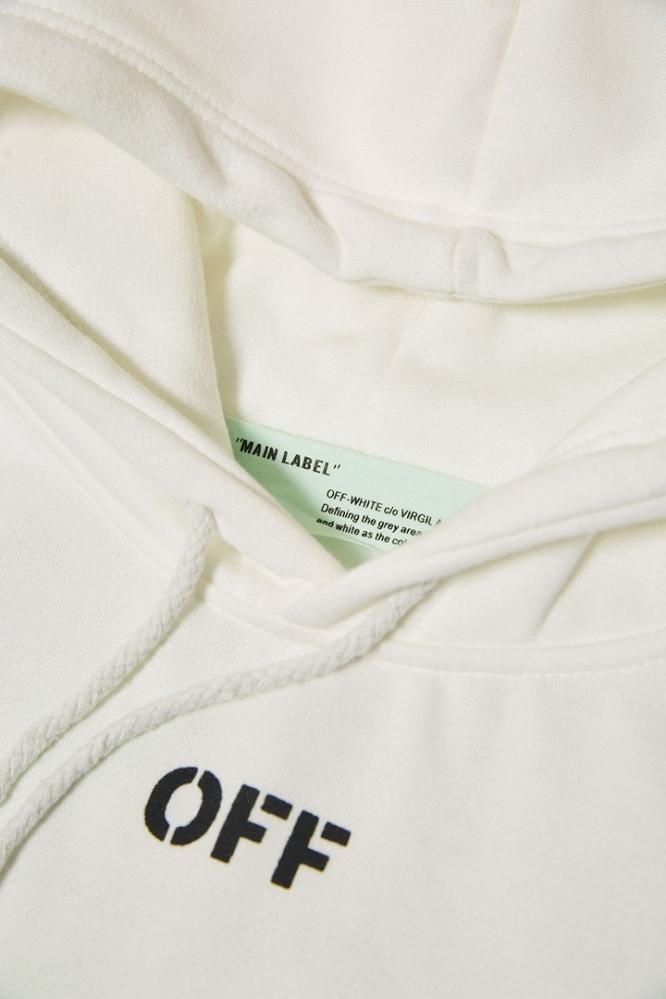Худи OFF-White белое