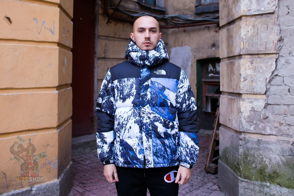 Пуховик Тhe North Face x Supreme
