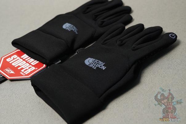 Перчатки The North Face плотные L чёрные