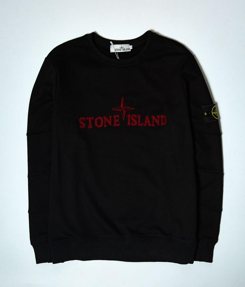 Свитшот Stone Island черный