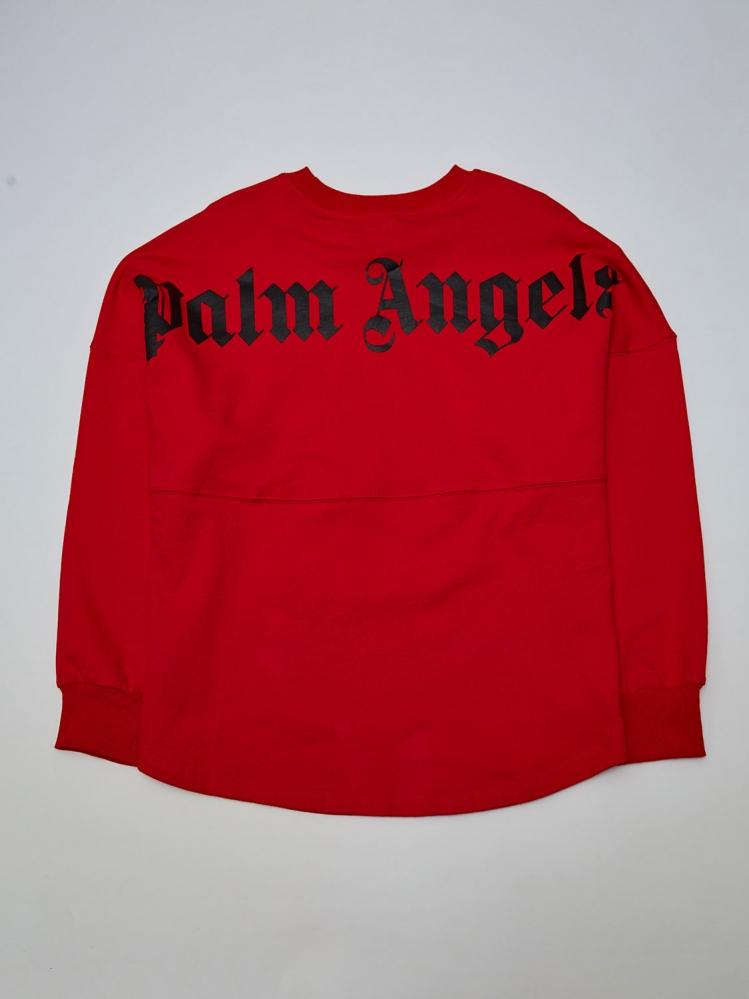 Свитшот Palm Angels красный