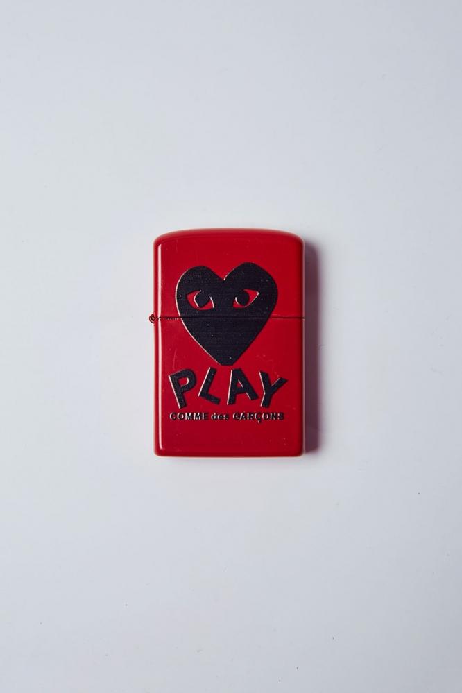 Зажигалка Play (красн)
