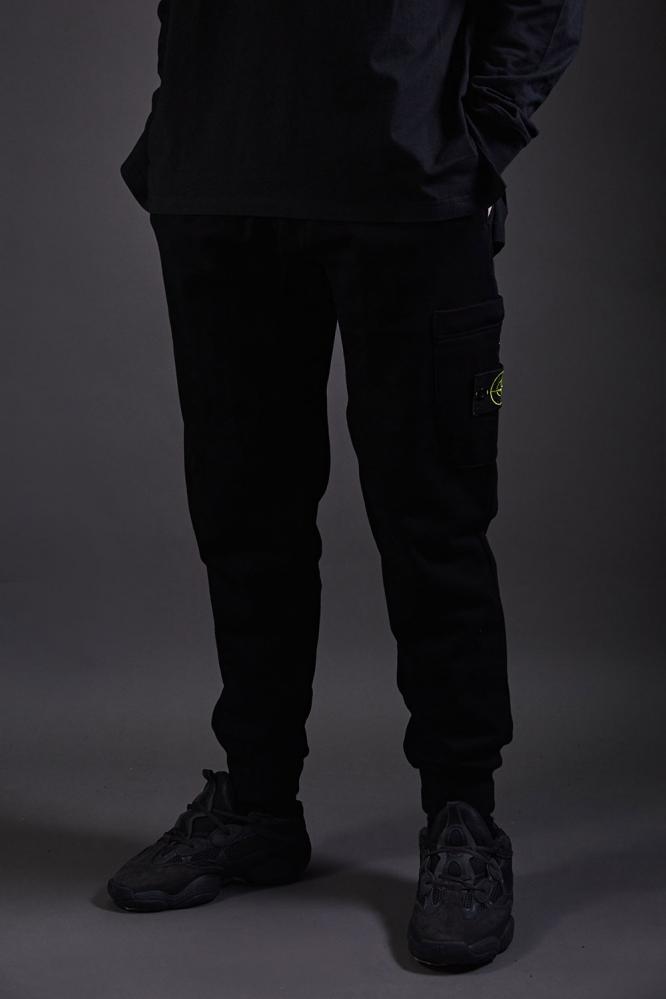 Спортивные штаны Stone Island черные