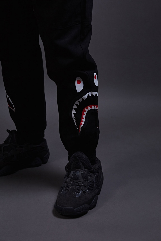 Джоггеры Bape Shark