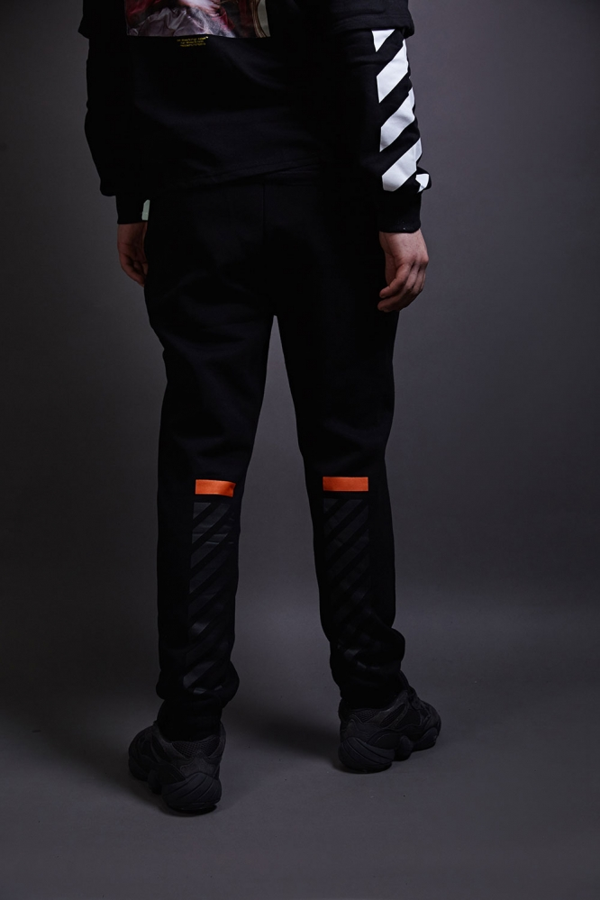 Спортивные штаны OFF-White черные