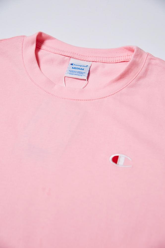 Футболка Champion светло-розовая