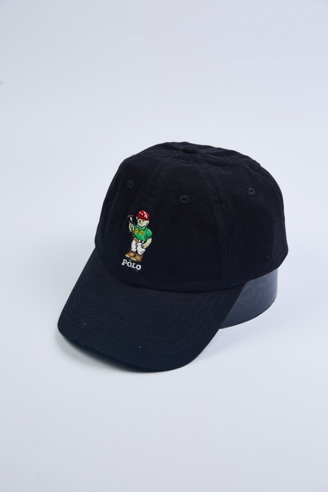 Кепки Polo Мишка 950 (черн)