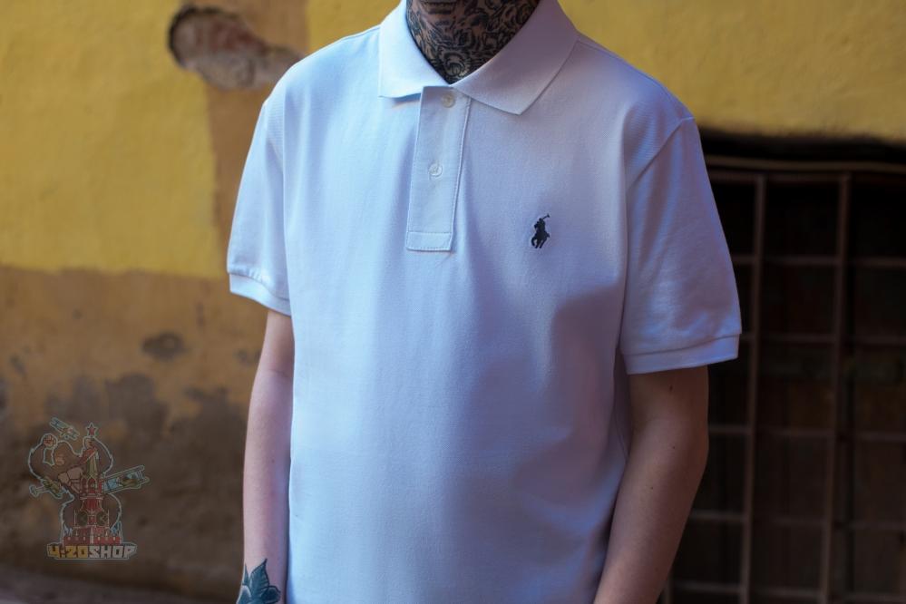 Поло Polo Ralph Lauren белое