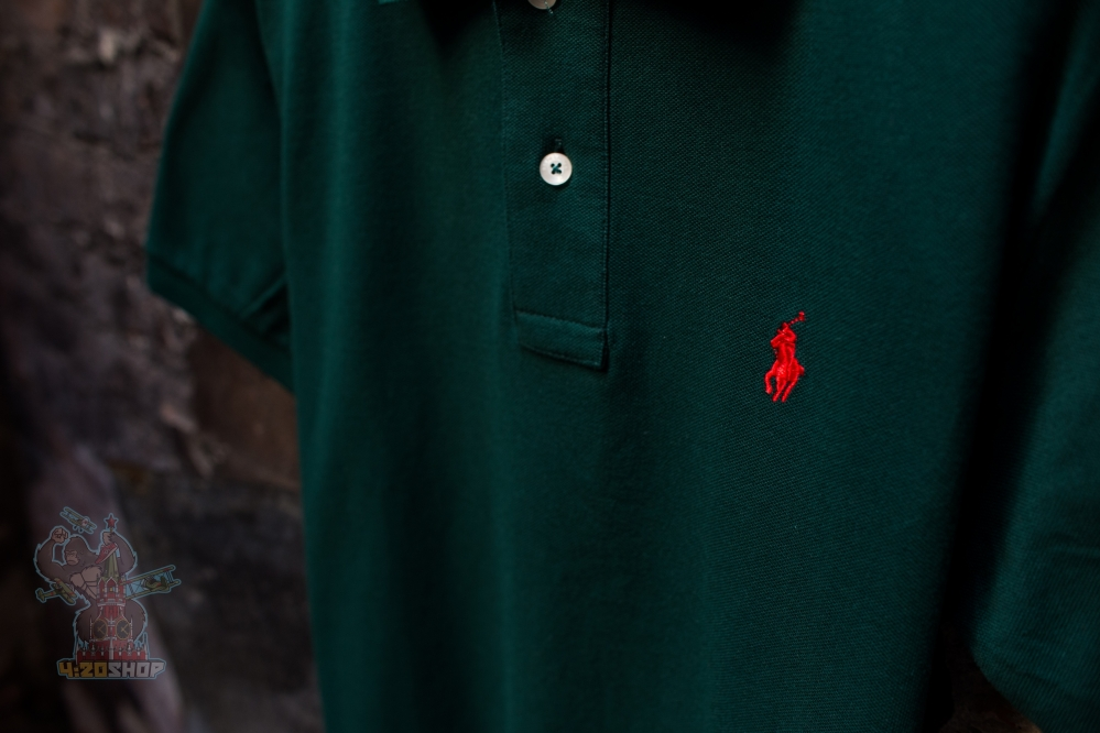 Поло Polo Ralph Lauren зелёное