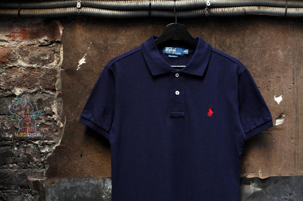 Поло Polo Ralph Lauren темно-синее