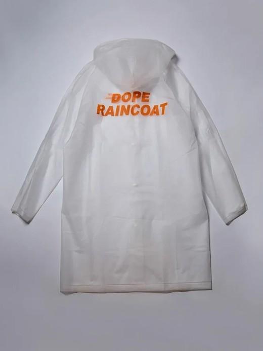 Дождевик Dope Raincoat белый