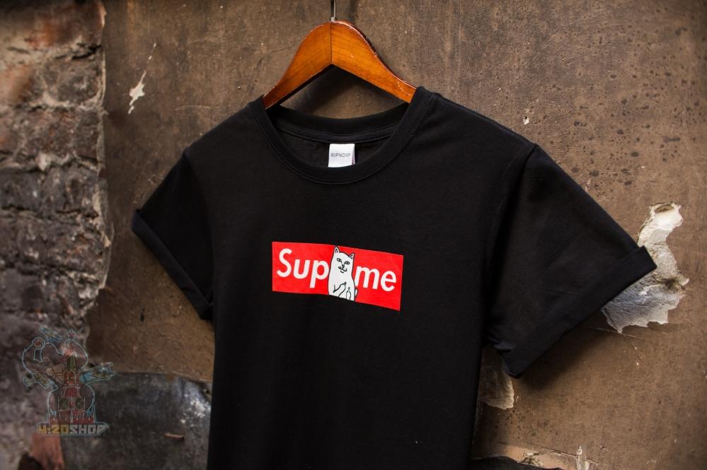 Футболка RipNDip x Supreme