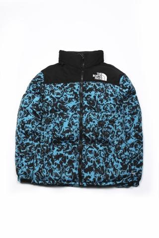 Куртка зимняя The North Face сине-чёрная