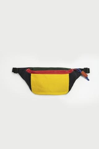 Бананка ZAR желто-зелёно-синяя