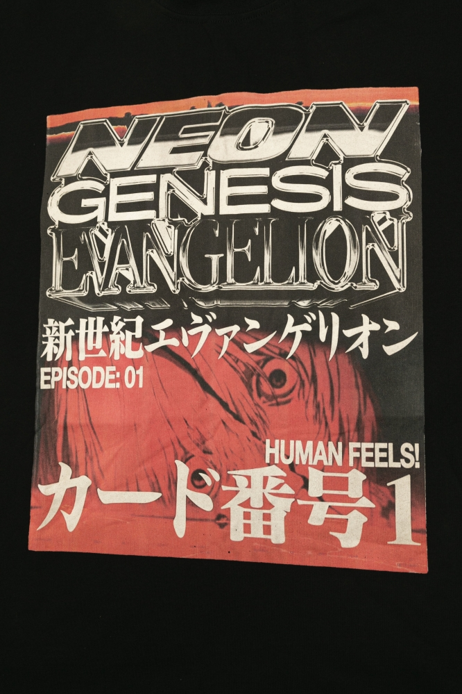 Футболка Neon Genesis (черн)