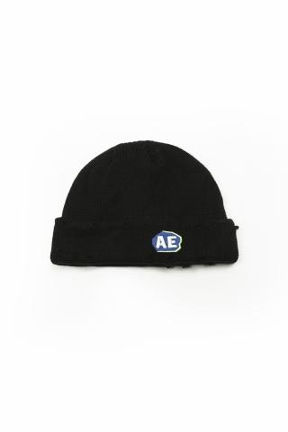 Шапка Logo AE черная