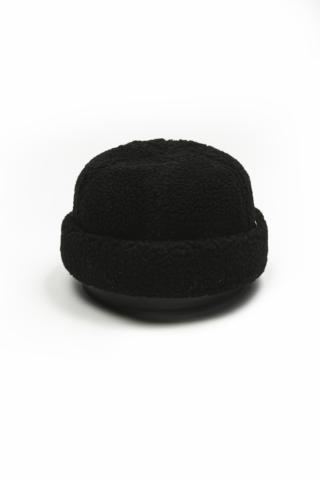 Шапка Мех искусственный черная