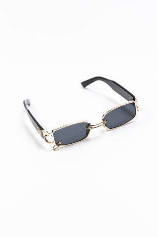 Очки с кольцом черный/золотой