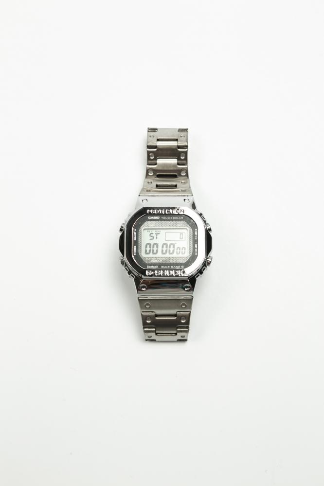 Часы  G-Shock серебряные