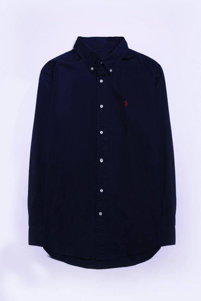 Рубашка Ralf синяя