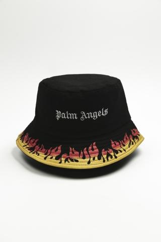 Панама PALM FIRE двусторонняя черная