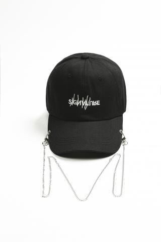 Кепка Signature Chain черная