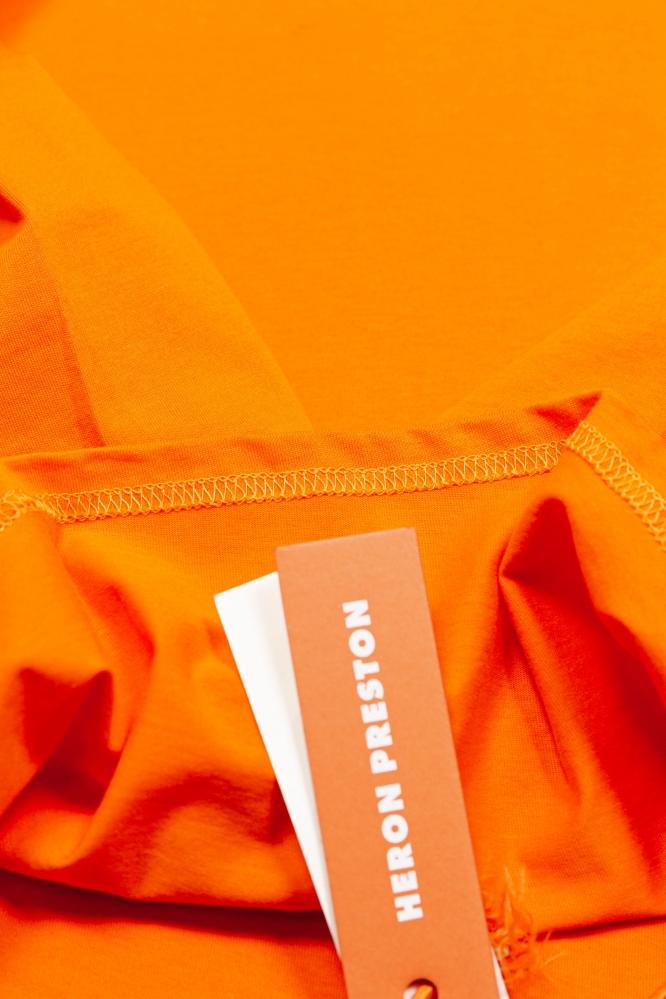 Лонгслив Heron Preston оранжевый