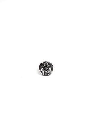 Перстень Узор серый