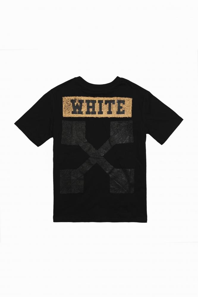 Футболка OFF-White черная