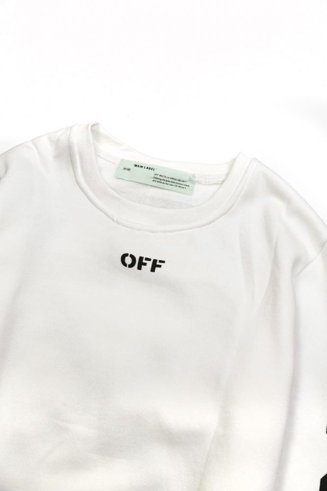 """Свитшот Off-W """"OFF"""" белый"""