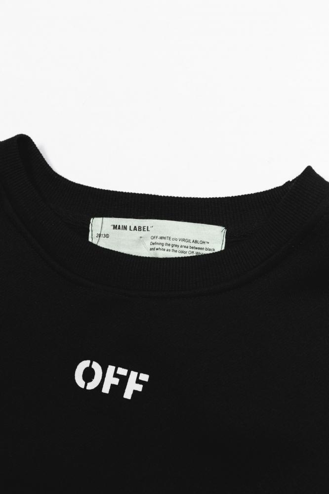 """Свитшот Off-W """"OFF"""" черный"""