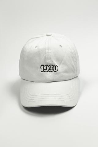 Кепка 1990 белая
