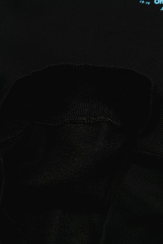 Свитшот OFF-White черный