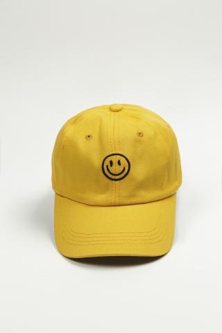 Кепка SMILE желтая