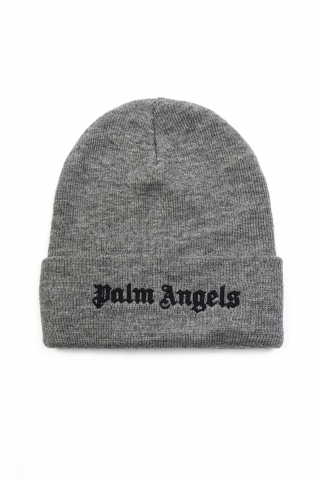 Шапка Palm Angels серая