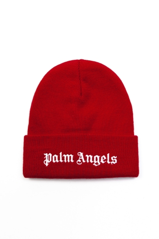 Шапка Palm Angels красная