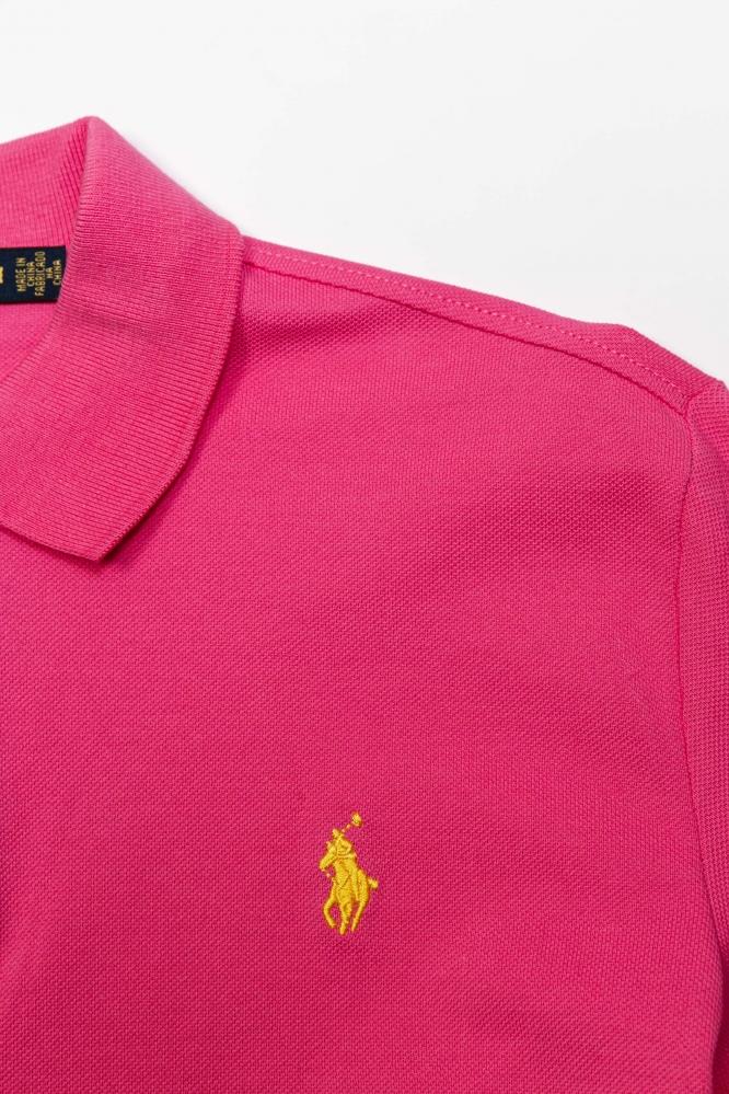 Поло Polo Ralph Lauren розовое