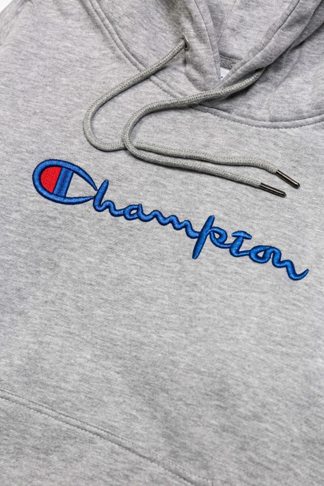 Худи Champion серое