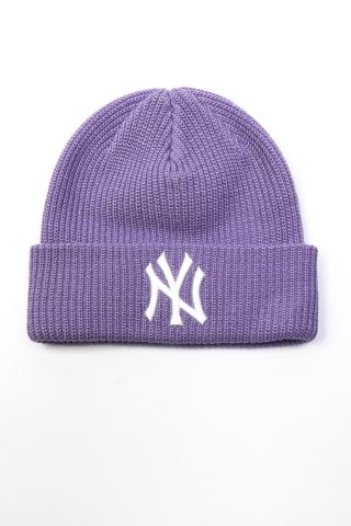 Шапка N.Y. MLB светло-фиолетовая