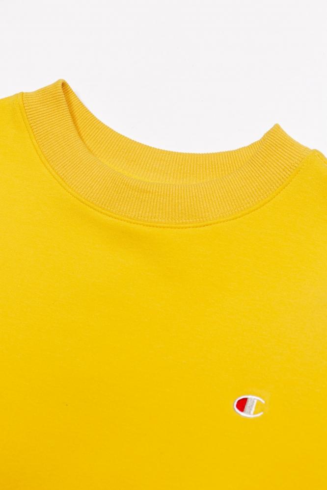 Свитшот Champion желтый