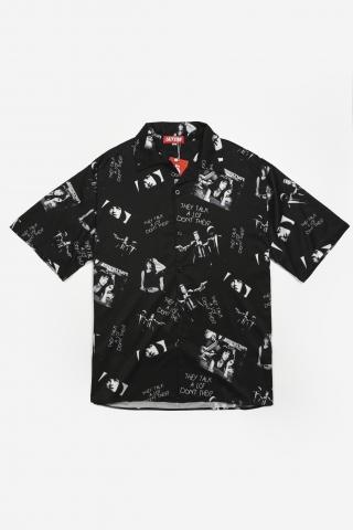 Рубашка Pulp fiction чёрная