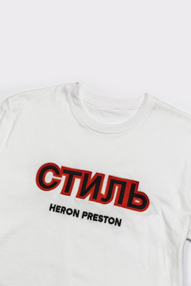 Футболка Heron Preston белая