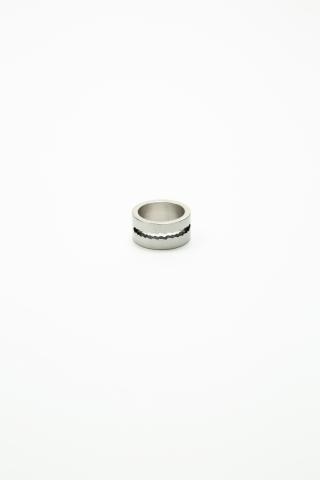Кольцо G-overshare серебро