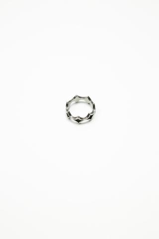 Кольцо Rhombus серебро