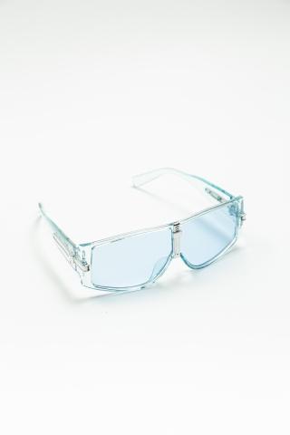 Очки Dragonfly прозрачно-голубые